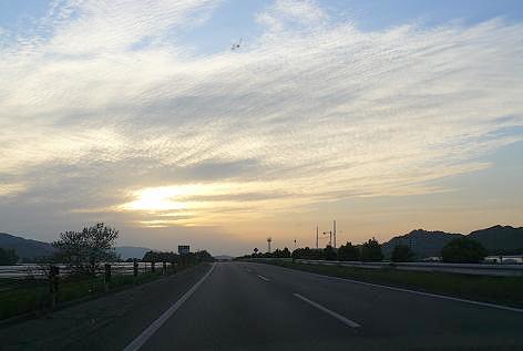 九州道へ♪