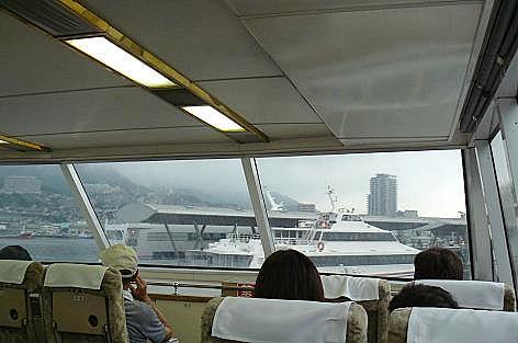 船で伊王島へ♪
