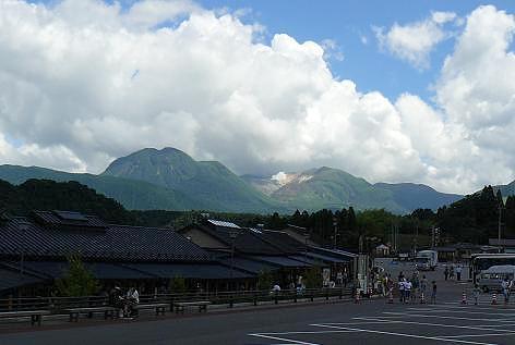 九重山が見える・・・♪