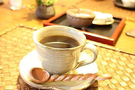 コーヒーも美味しい♪