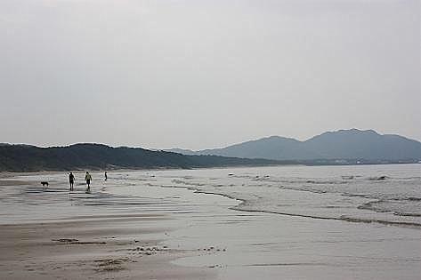 広い砂浜のビーチ♪