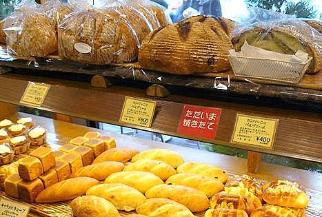 石窯焼きのパン♪