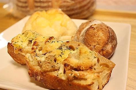 レンコンの柚子胡椒味噌パン♪