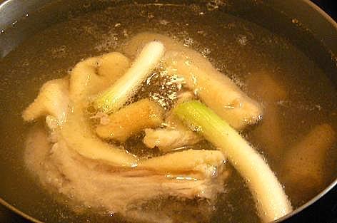 鶏がらスープ♪