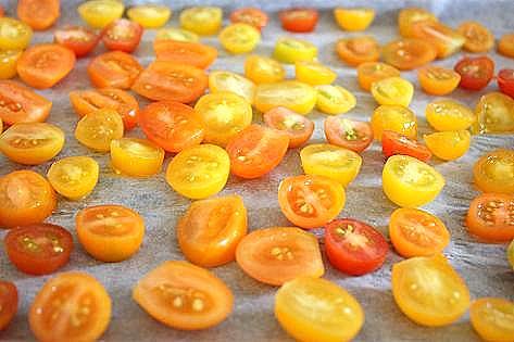 宝石みたいなミニトマト♪