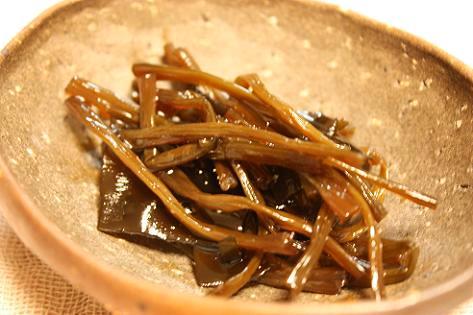 芋蔓の佃煮♪