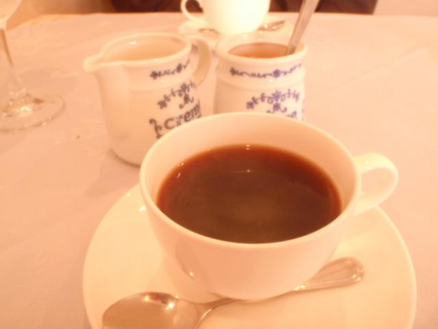 食後のコーヒーは必須になってきた