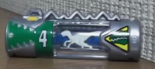 ザクトル獣電池(チャージ状態)