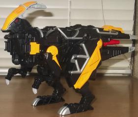 獣電竜パラサガン(バトルモード)