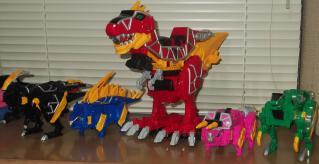 集結5大獣電竜