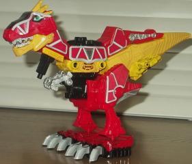 獣電竜ガブティラ(バトルモード)