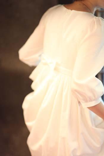 オーガニックコットンのドレス
