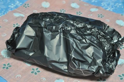 黒ホイル包み