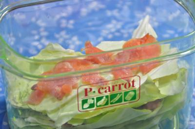 鮭のキャベツ巻き準備3