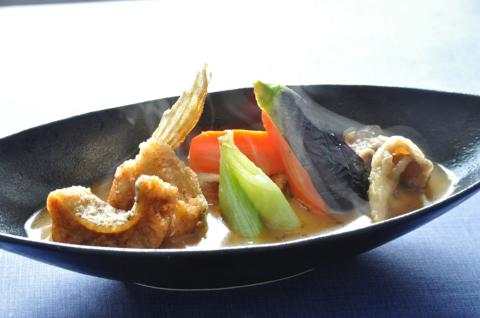 アブラコのスープカレー3