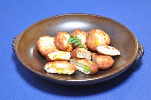 宗八カレイと豆腐の揚げかまぼこ