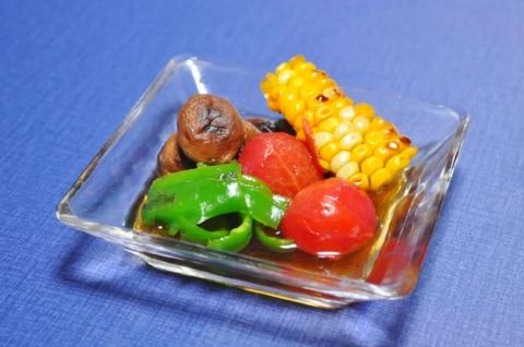 彩り野菜の焼きびたし