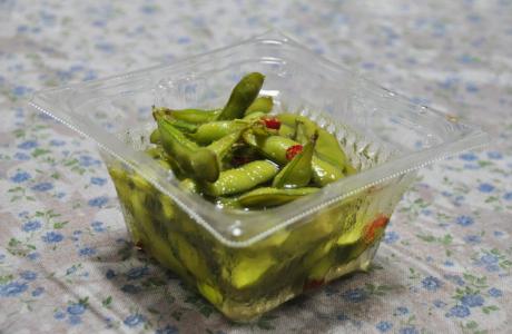 枝豆の漬け物