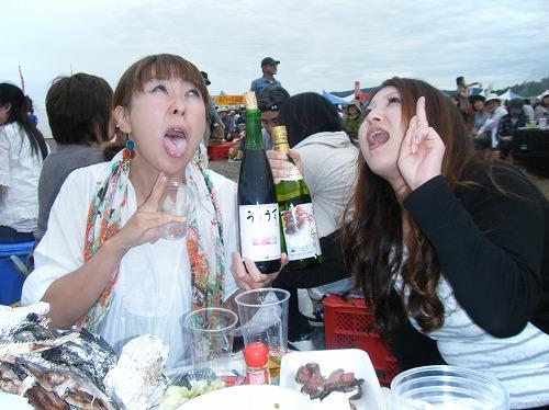 小樽ワイン祭り おばかなふたり