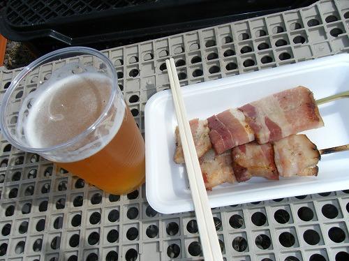 小樽ワイン祭り ベーコン