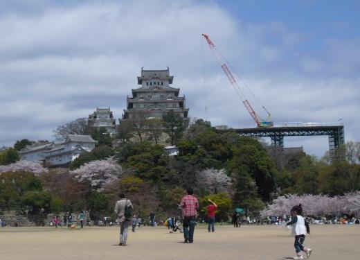 平成22年4月10日姫路城