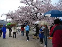 平成22年4月11日姫路城清掃会