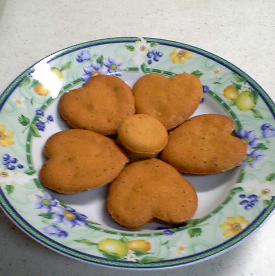 杏とキャラメルのマドレーヌ