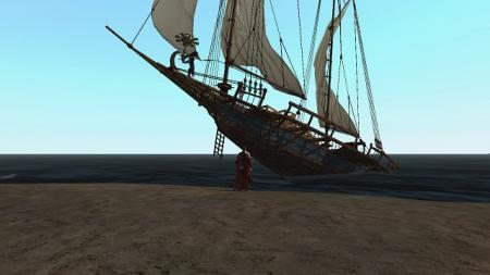 交易船完成