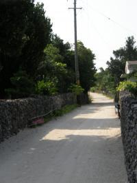 竹富島の街2