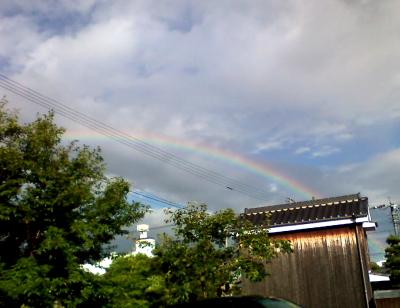 朝の虹10.08