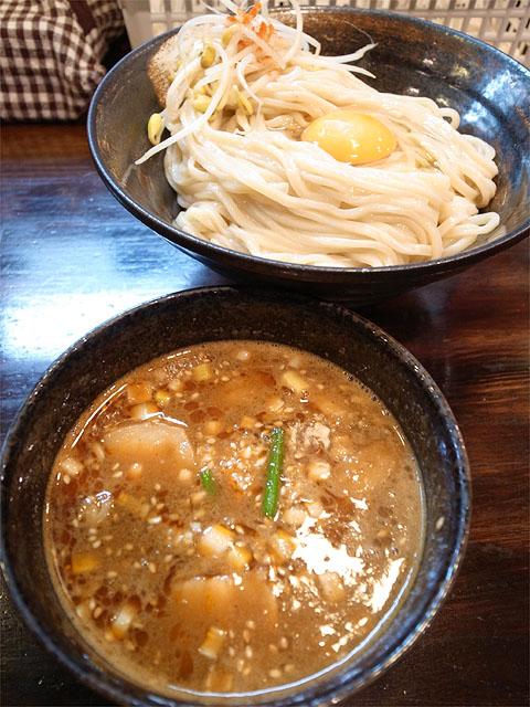 140921かたぶつ-スタミなっ豆つけ麺