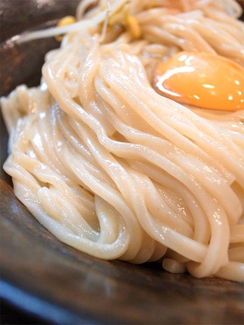 140921かたぶつ-スタミなっ豆つけ麺・麺アップ