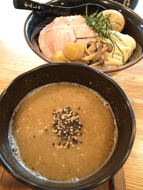 141023二代目白神-鶏白湯味噌つけ麺