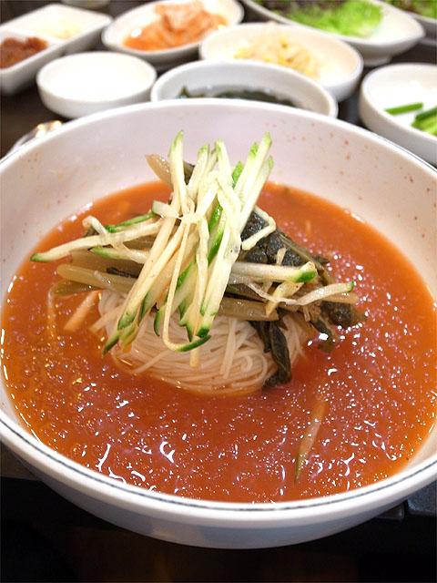140523焼肉店-冷麺