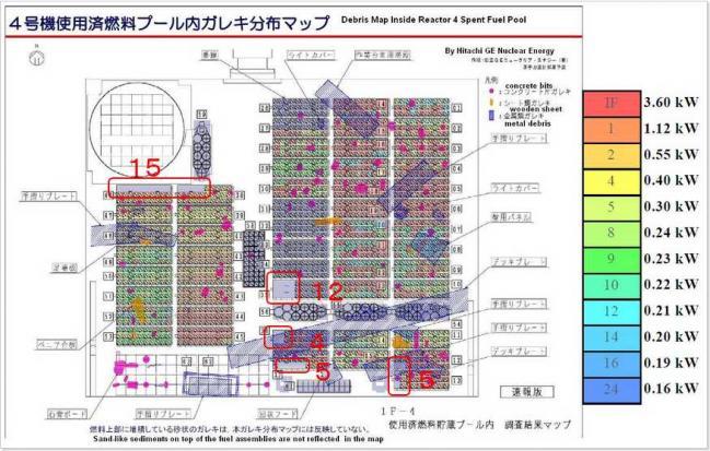 4号機瓦礫マップ3