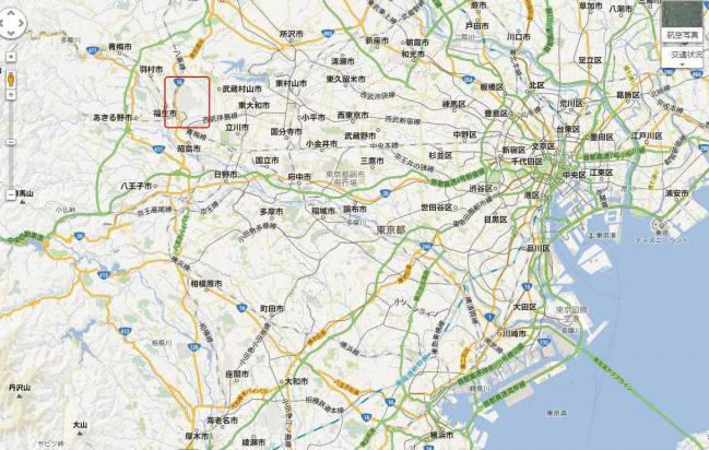横田基地 - Google マップ