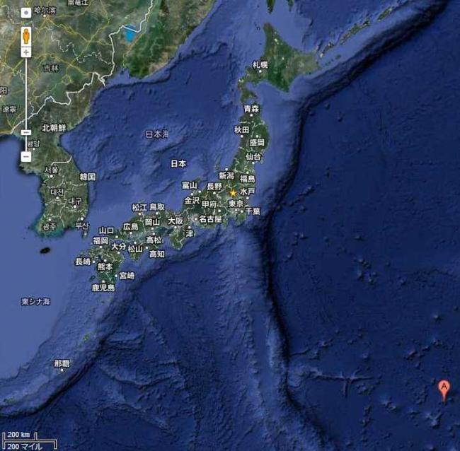 南鳥島 - Google マップ