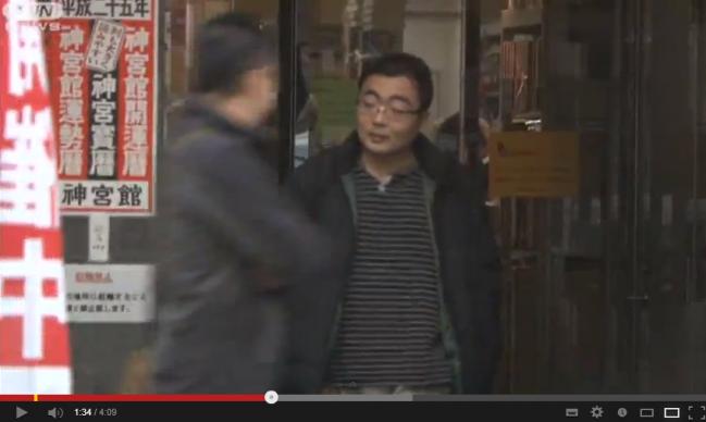 逮捕前日に猫カフェ・・・防犯カメラ映像が決め手に(13 02 10) YouTubedd