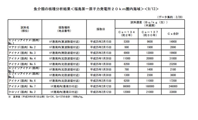 東電プレスリリース平成25年2月28日