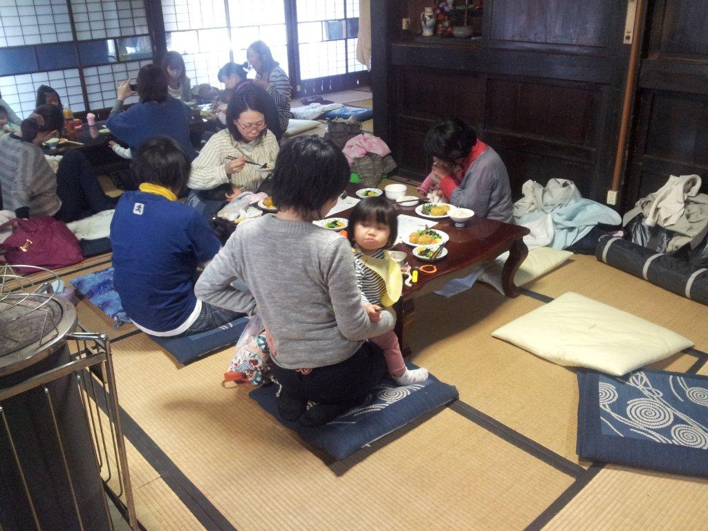 3月26日松本邸(