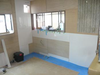キッチン施工1