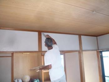 左官塗り 和室壁