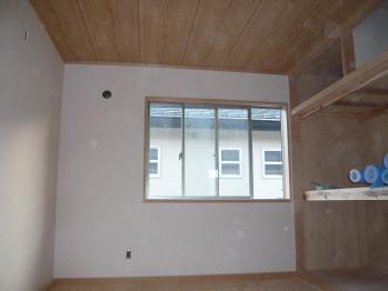 2階畳 天井