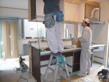 キッチン施工2