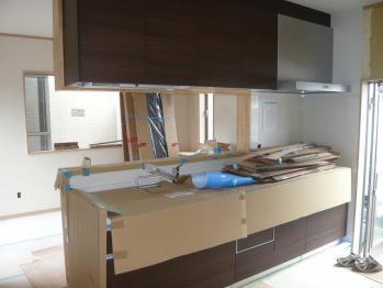 キッチン施工4