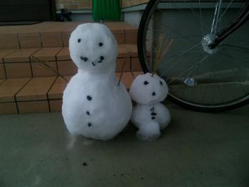 1212雪だるま
