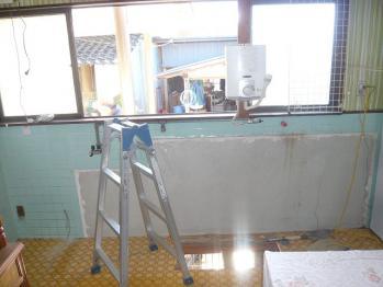 キッチン撤去20130315