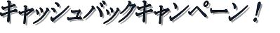 キャッシュバックロゴ