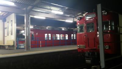 新可児駅夜
