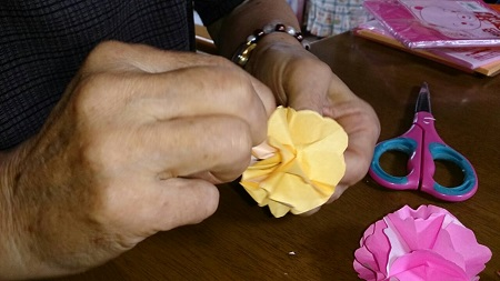 折り紙のバラ5